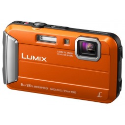 Panasonic Lumix DMC-FT30 EG-D Orange + 32GB Komplettset !