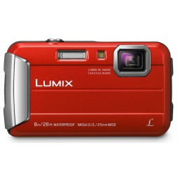 Panasonic Lumix DMC-FT30 EG-R Rot + 32GB Komplettset !