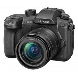 Panasonic Lumix DC-GH5 Kit inkl. G-Vario 3,5-5,6/12-60 mm asph. Power OIS sw