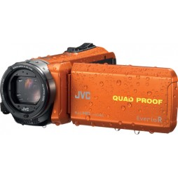 JVC GZ-R435DEU Orange bis 5m wasserdicht