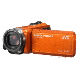 JVC GZ-R405DEU orange bis 5m wasserdicht
