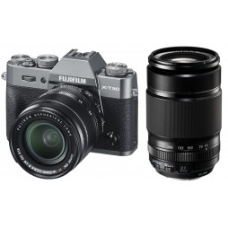 FUJIFILM X-T30 anthrazit + XF18-55mm + XF 55-200mm Kit