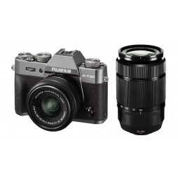 FUJIFILM X-T30 anthrazit + XC15-45mm + XC 50-230mm II Kit