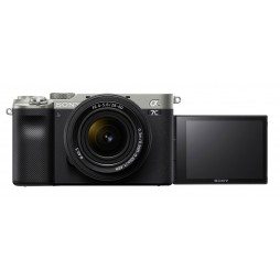 Sony Alpha ILCE-7C mit SEL FE 28-60 f4-5,6 silber Kit
